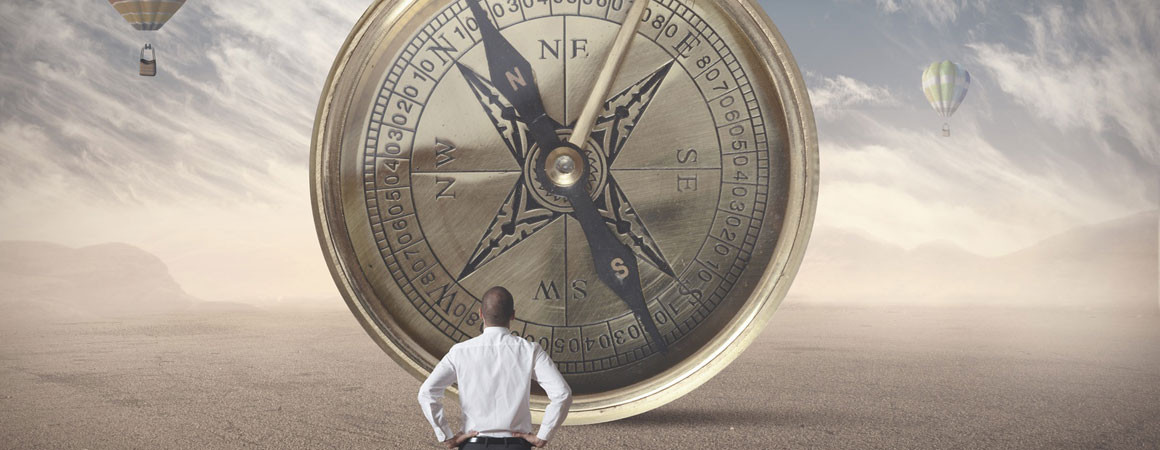 Having a compass and a destination gives your life new direction and purpose.